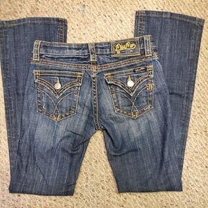 NWOT Miss Me dark bootcut premium jeans sz 27